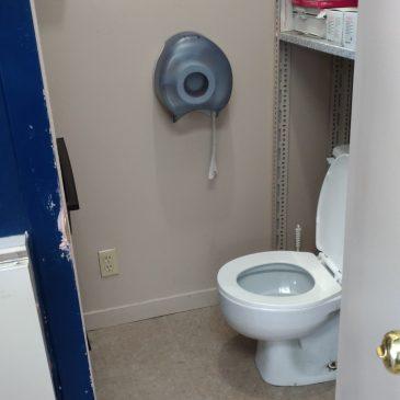 Rénovation d'une salle de bain (Local commercial)